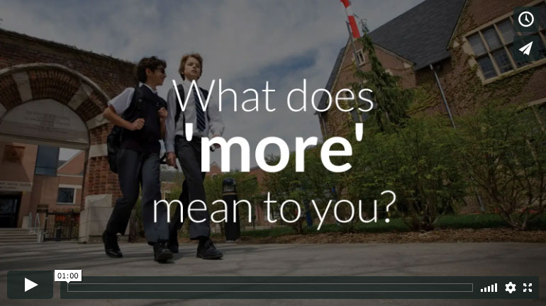 what does more mean to you